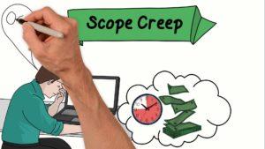 scope creep, feature creep
